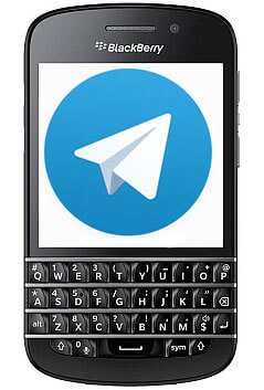 установить telegram для BlackBerry